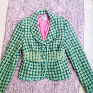Kenzie Girl Bolero Style Lined Blazer, Size XS